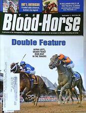 BLOOD HORSE MAGAZINE 9/2/12 DOUBLE FEATURE ALPHA GOLDEN TICKET DEAD-HEAT TRAVERS