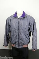 PATAGONIA Capilene Jacket With Shell -Gray/Purple/Beige -Men's Large USA-Made