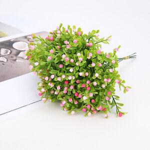 Artificial Mini Potted Plants Fake Plastic Milan Flower DIY Artificial Flowers