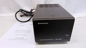 Kenwood PS-30 Base Station 13.8VDC 20A Linear Power Supply Tested and Working