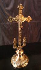 Christ avec Marie et Marie Madeleine XIX ème en bronze et laiton!!