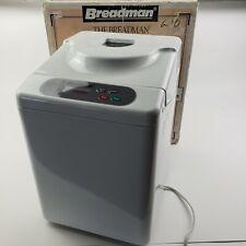 Breadman Tr441 Automatic Bread Maker Machine Knead w/ Box