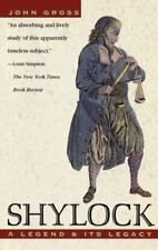 Shylock: A Legend and Its Legacy (Paperback or Softback)