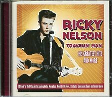 RICKY NELSON TRAVELIN' MAN CD - I'M WALKIN', HELLO MARY LOU, SOMEDAY & MORE