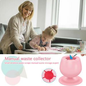 Weeding Waste Collector Vinyl Silicone Suction Cup,Short Wine Glass cup Shape