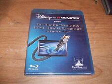 Disney and Monster Present The Higher Definition Home Theater Experience Blu-ray