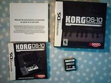 Juego - Simulador KORG DS10 SYNTHESIZER Nintendo DS