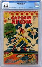 Charlton Comics Captain Atom #83 CGC 5.5 OW/WP 1st Blue Beetle Steve Ditko 1966