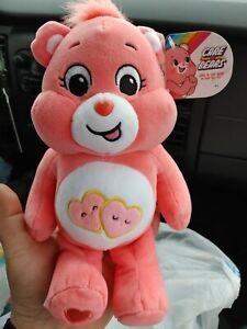 "VHTF 9"" Love A Lot Care Bear NWT"
