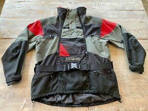 NORTH FACE Men's Steep Tech Scot Schmidt Black and Red Jacket Size XL Vintage