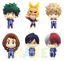 6pcs/set Anime My Hero Academia PVC Mini Action Figure Model Toy Kids Dolls Gift