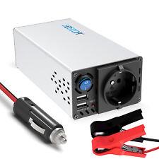 EDECOA Inversor Convertidor 600W 1200W 12V 220V Transformer Inverter USB 2.1A