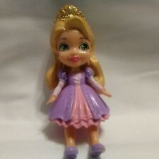 Disney Princess Mini Toddler Rapunzel Poseable Doll Disney's Tangled 3.5""