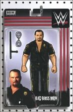 WWE #7 Big Boss Man Action Figure Variant Cover Comic Book