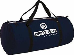"Maverik Monster Duffel Duffle Equipment Bag Lacrosse Navy Blue 15""Hx40""Wx15""Deep"