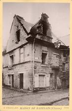 France, Chinon, Maison de Rabelais    Vintage albumin print Tirage albumin