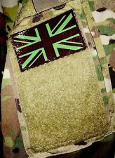 UK Flag Patch IR Night Vision PVS-14 Tactical British Military Patch NEW