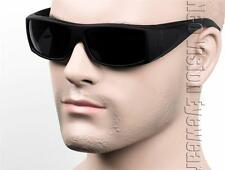 Square Cholo Gangster Sunglasses Super Dark OG LOC Style Black Matte SW2