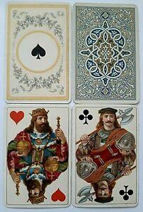 ANTIQUE PLAYING CARDS DONDORF MITTELALTER No 150 UNIQUE HAMILTON NO INDICE 1895