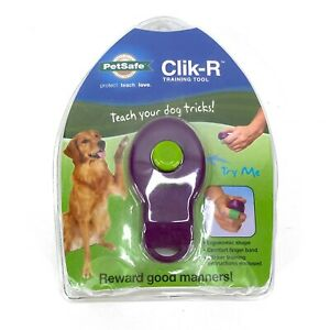 PetSafe Hand-Held Clik-R Training Tool for Dogs Puppies Ergonomic Comfort Band