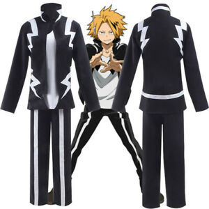 My Hero Academia Boku no Hero Academia Denki Kaminari Cosplay Costume Full Set