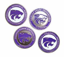 Kansas State (Ksu) Wildcats K-State Golf Ball Markers (Set of 4)
