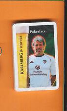 KARLSBERG BIER-HOMBURG-SKATSPIEL-OVP-1.FC KAISERLAUTERN-MOTIV 3-POKERFACE-TOP-