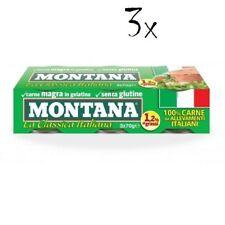 9x Montana carne classica Rindfleisch in Aspik dose 70g 100%25 Italienisch Fleisch