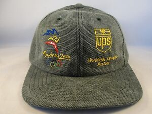 Sydney 2000 Olympics Vintage Strapback Cap Hat Green