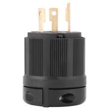 1x NEMA L5-30 30A 125V 3-pole Wire Twist Lock Electrical Plug Connector Copper H