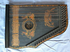 Schöne alte Anglo American Guitar Zither made in Saxony, 1900-1930