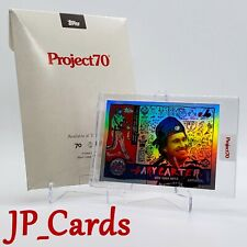 Topps Project 70 - 1960 Gary Carter by Gregory Siff - Rainbow Foil - In Hand!
