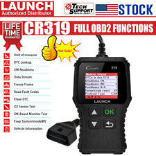 LAUNCH CR319 Code Reader OBD2 Scanner Car Check Engine Fault Diagnostic Tool US
