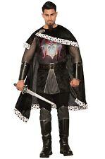 Brand New Evil Medieval Renaissance King Adult Costume