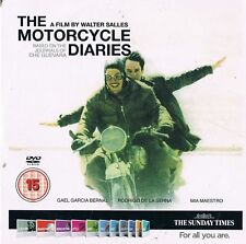 THE MOTORCYCLE DIARIES - PROMO DVD: GAEL GARCIA BERNAL, MIA MAESTRO /CHE GUEVARA