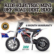 Kids Dirt Bike Electric Mini Off Road 500W 24V Pocket Bikes Parental Control