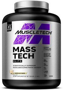 MuscleTech Mass-Tech, Vanilla - 3180g