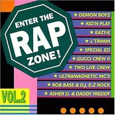 Enter the Rap Zone 2 Rob Base & DJ E-Z Rock, Demon Boyz, Two Live Crew.. [CD]