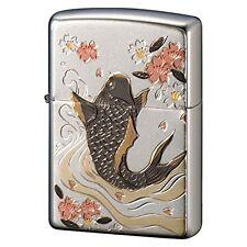 Zippo Japan Carp Electroforming Beautiful Japanese design Collection Rare New