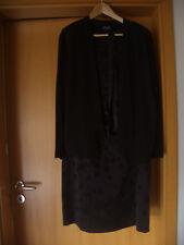 """elegantes Damen Kleid gerader Schnitt von """"TAIFUN"""" Gr. 46 schwarz mit Jacke NEUW"""