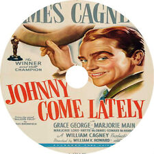 Johnny Come Lately _ James Cagney Grace George 1943 dvd v rare