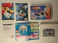 Wave Race 64 - Boxed, CIB, Tested (Nintendo 64)