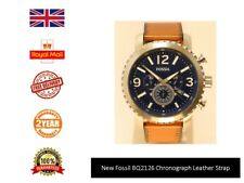 New Genuine Fossil 50mm BQ2126 Mens chronograph Watch UK Fast Dispatch