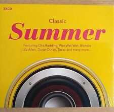3CD NEW - CLASSIC SUMMER - Pop Music 3x CD Album - Otis Texas Duran Blondie 10cc