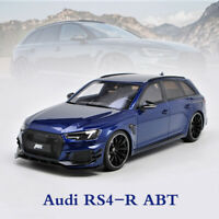 GT Spirit 1:18 Scale Audi RS4-R ABT Blue Resin Model Car Limited Collections