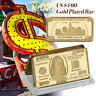 WR Gold Art Bar US $100 Dollar Bill Money Collectible Bullion 21st Gift Ideas