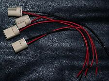 """G9 (set of 4) ceramic socket  6""""high temperture wire, USA shipping"""