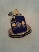 Authentic US Army 39th Infantry Regiment Unit DI DUI Crest Insignia 22M
