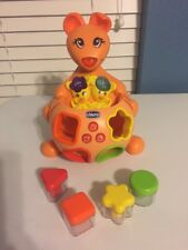 Bilingual CHICCO Toy Sing N Learn Kangaroo EUC All 4 Shape Blocks Included