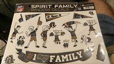 St. Louis Rams Family Spirit Window Decals